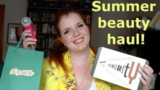 Summer Beauty Haul! (Chanel, Dior, La Mer, Aesop, Clarisonic, Eve Lom) Thumbnail
