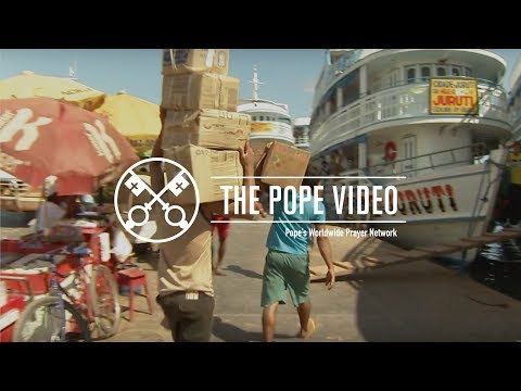 The Pope Video 10-2017 - Rights of workers and the unemployed - October 2017