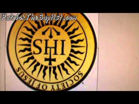 Want to know what the IHS jesuit symbol (society of jesus) really means?