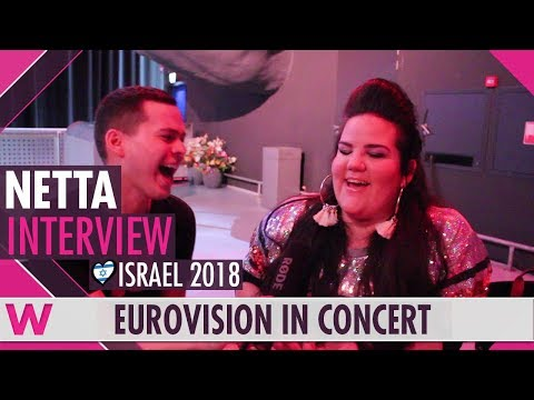 Netta (Israel 2018) Interview | Eurovision in Concert 2018