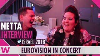 Netta (Israel 2018) Interview   Eurovision in Concert 2018