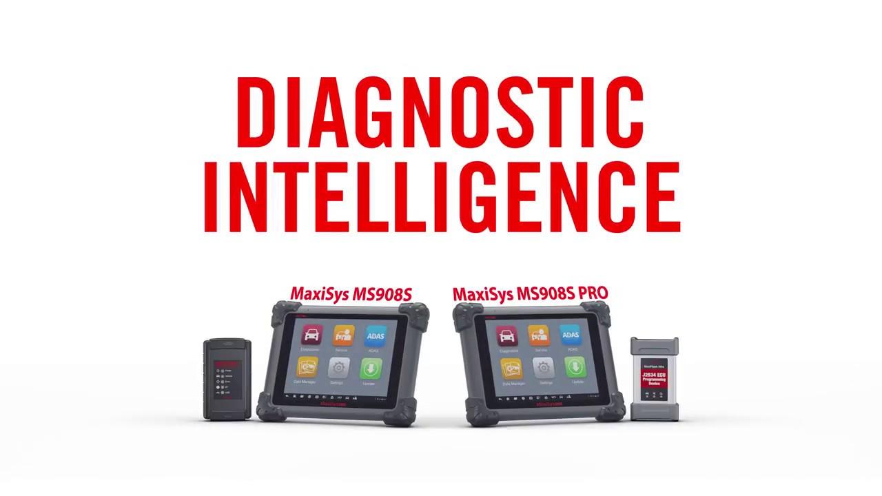 NEW 2018 Autel MaxiSys MS908S Diagnostic Tool