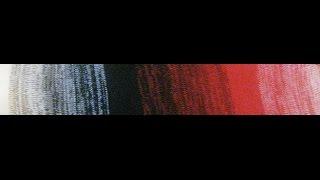 Как делать ГРАДИЕНТ (плавный переход) цвета в вязаных кофтах идр.(Как вязать градиентные плавные перехолды цвета? Уроки машинного вязания от Натальи Некрасовой Бесплатные..., 2015-12-02T19:26:23.000Z)
