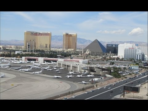 KPHX to KLAS with ATC (VFR)