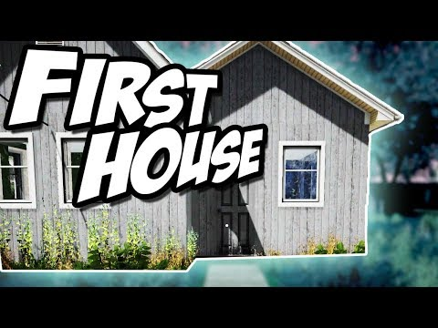BUYING OUR FIRST HOUSE! ► House Flipper Gameplay