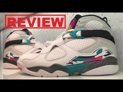 863f3ad8e8491f AIR JORDAN 8 VIII SOUTH BEACH RETRO SNEAKER SUPER DETAILED REVIEW ...