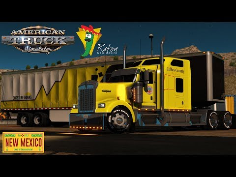 American Truck Simulator: Colfax County NM - Intense mining ops in Raton