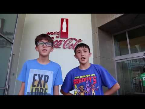 The World of Coca Cola Tour and Tasting Room!