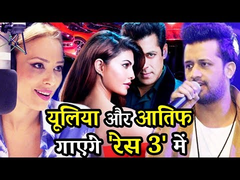 RACE 3 - Atif Aslam & Salman's Gf lulia Vantur Romantic Song - Watch