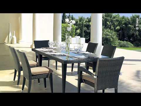 Meubles de jardin Uccle - Compagnie des Jardins - YouTube