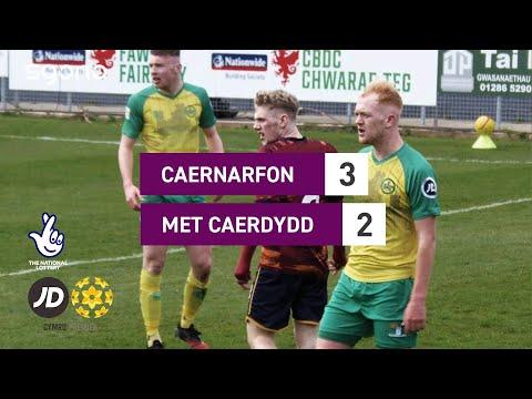 Caernarfon Cardiff Metropolitan Goals And Highlights
