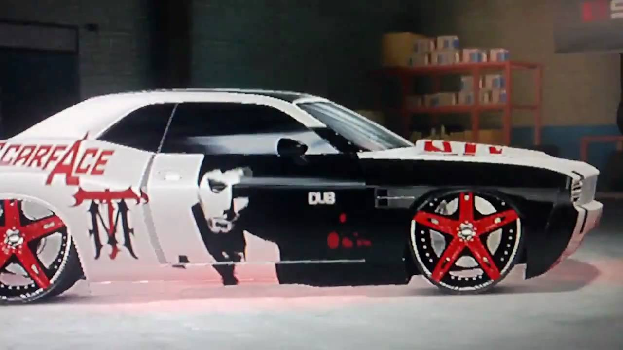 Midnight Club Los Angeles Scarface Style Dodge