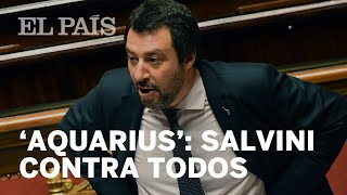 'AQUARIUS': SALVINI exige una disculpa a Macron