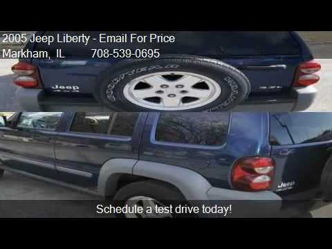 2005 Jeep Liberty Sport 4WD 4dr SUV for sale in Markham, IL