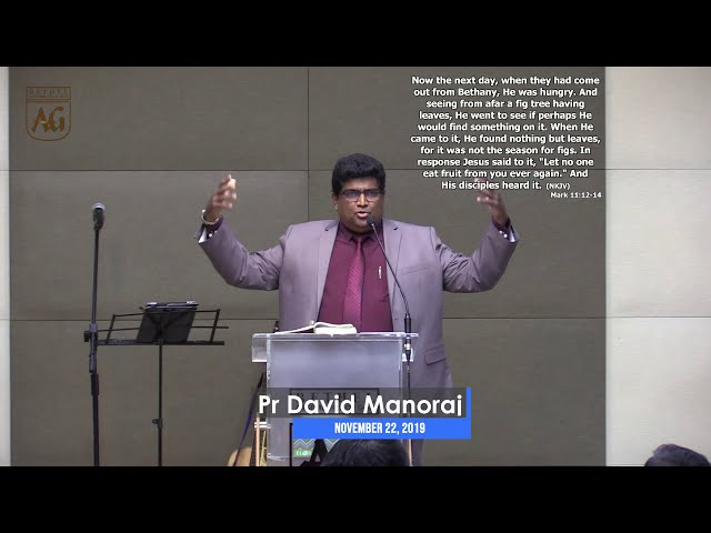 Ps. David | English Sermon | 22 November 2019