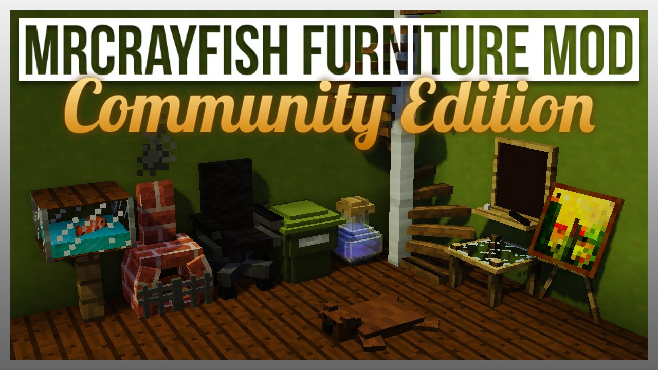 Mrcrayfish Furniture Mod Ce The Basics Update Youtube
