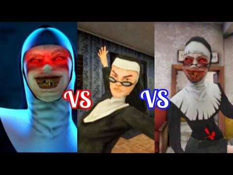 ⚔️Jumpscares battle⚔️ The Nun VS Evil Nun VS Evil Nun 2  