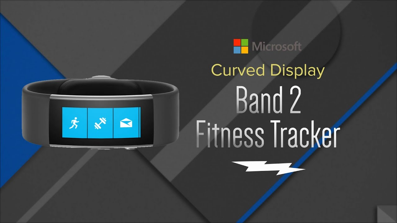 microsoft band 2 black fitness tracker mu500003 overview