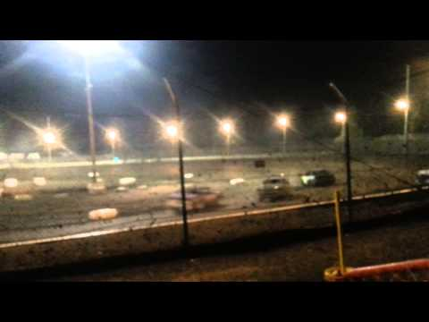 Spectator racing at sycamore speedway