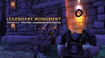 Patch 6.2 - Garnisons Monument Preview: Legendäre Questreihe