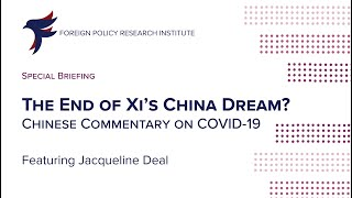 The End of Xi's China Dream? Chinese Commentary on COVID-19