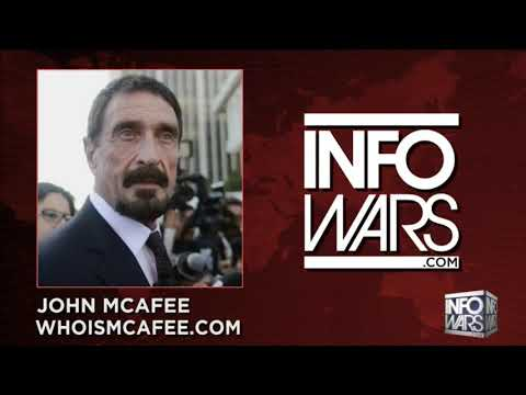 John McAfee on Infowars: Nothing Can Stop The Blockchain Revolution