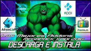 Descargar e Instalar | El Mejor Pack Addons Para Kodi | Windows 10 | 8.1 | 8 | 7 | 2016