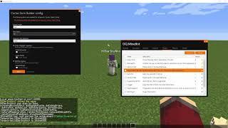 OQ.MineBot.V2 plugin tutorial - Cactus Farm Builder