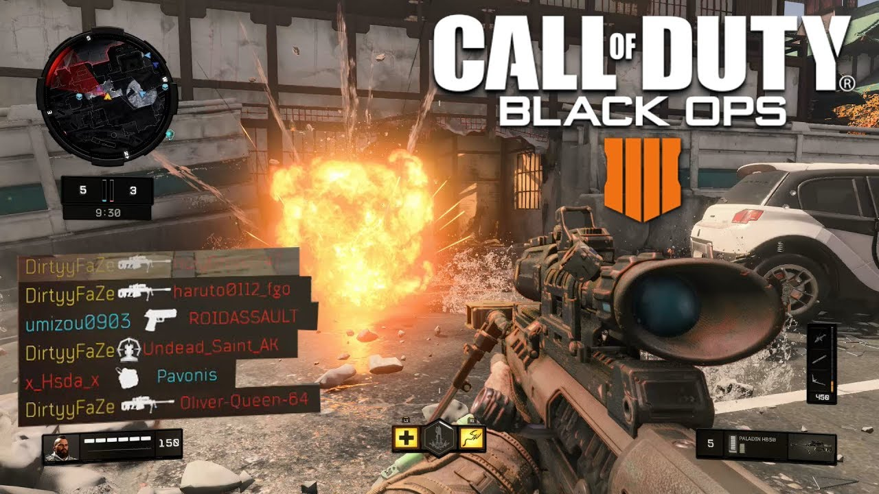 Black Ops 4 Sniping - Best Sniper Class to Use
