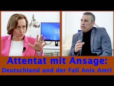 Attentat mit Ansage: Der Fall Anis Amri - Stefan Schubert im Gespräch mit Beatrix von Storch