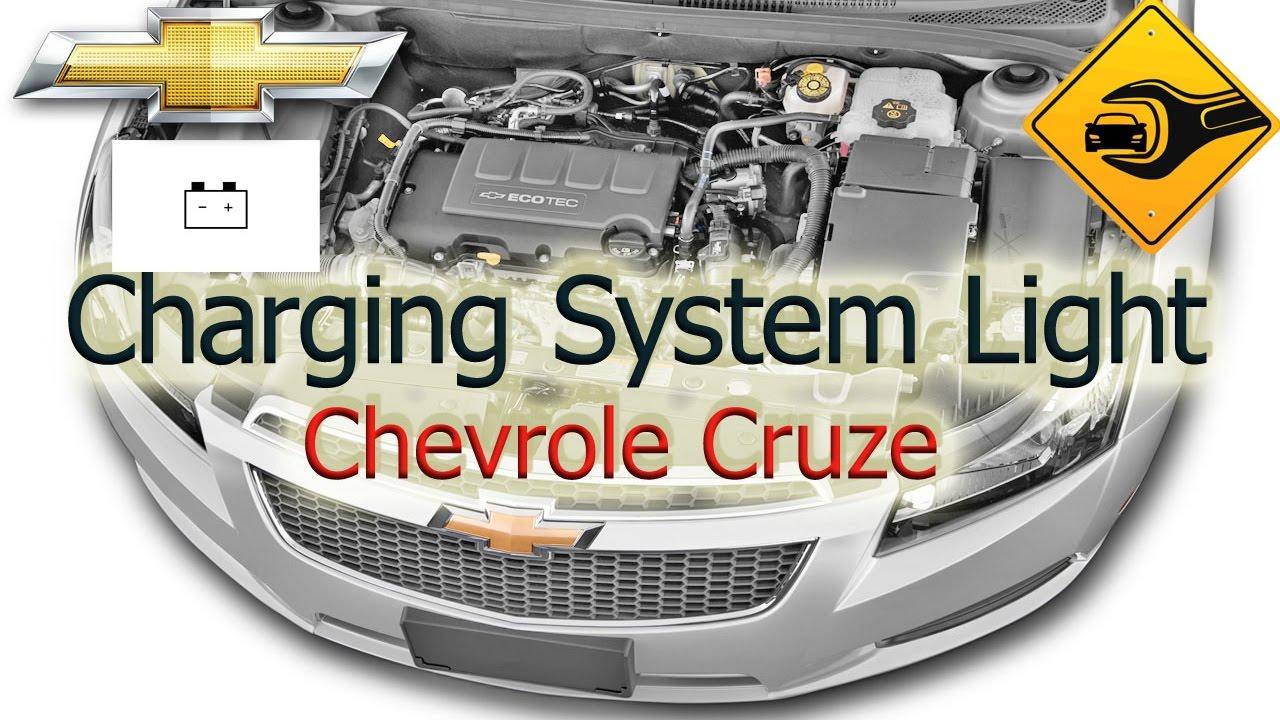 medium resolution of charging system light chevrolet cruze