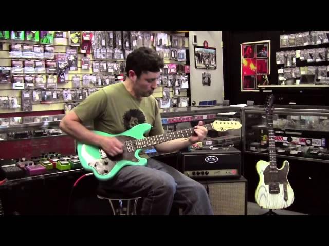 M-tone® Guitars - Dynamo through Miller Ampwerks Vortex