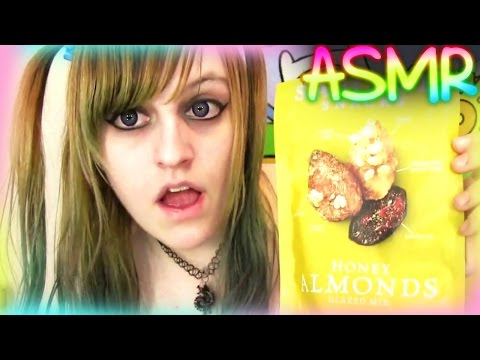 ASMR Mouth Sounds【 Food Chewing Noises ░ Quick Tingle 】♡ Calm Tingles, Binaural, GamerGirl ♡