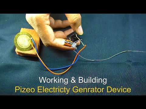 Efficient method or circuit for Piezoelectric Generator