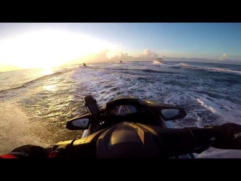 Jet Ski Trip to Exuma Bahamas from Ft Lauderdale part 1