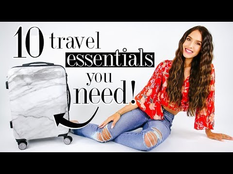 10 Unique Travel Essentials You NEED! *life-changing*