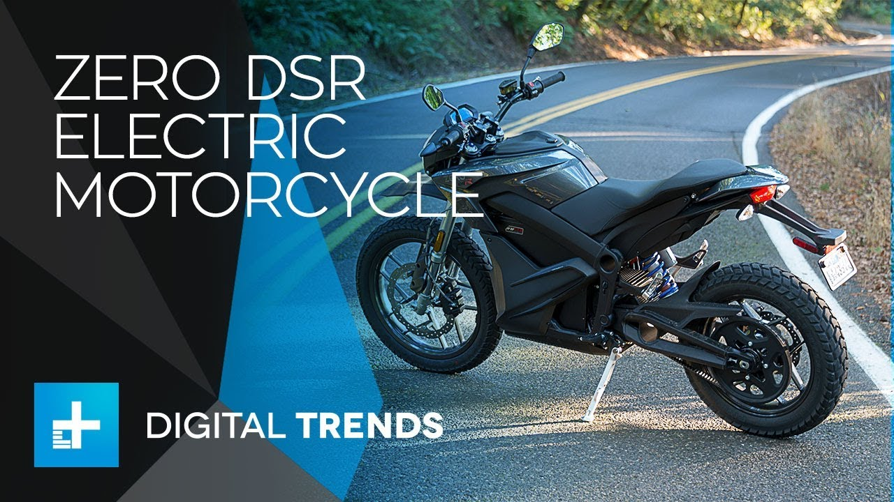 Zero's DSR Electric Motorcycle is a Twist-and-Go Fun Machine