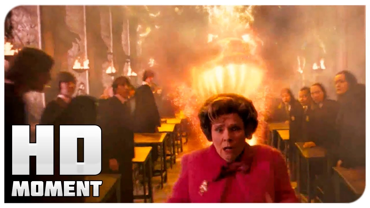 Братья Рона устроили салют в Хогвартсе - Гарри Поттер и ...