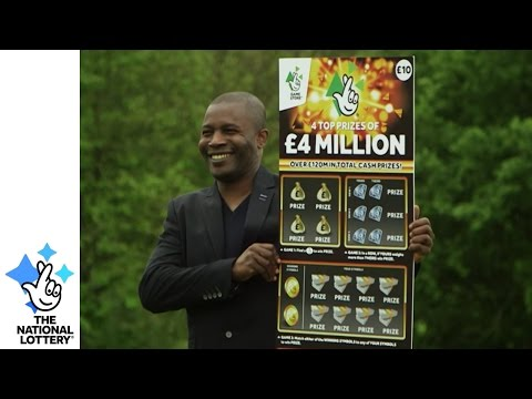 """""""I Won £4M But Finished My Shift"""" - Kitchen Manager Wins £4M On A Scratchcard"""