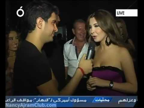 Nancy Ajram Interview Casino Du Liban