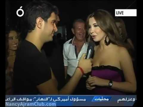Nancy Ajram Interview Casino Du Liban