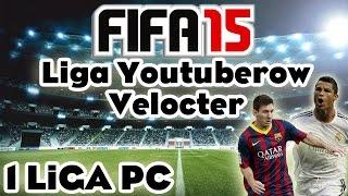Fifa 15 Velocter: 1 Liga Youtuberów PC! Pojedynek z AdryanHD