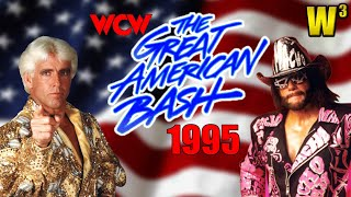 WCW Great American Bash 1995 Review   Wrestling With Wregret