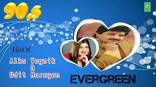 90's , Superhit Romantic Song , Hindi Love Song , Best Jodi Alka Yagnik And Udit Narayan