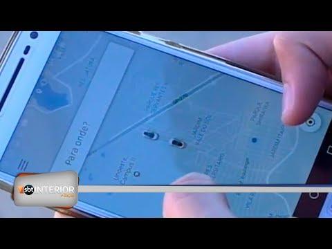 Passageiros avaliam os primeiros dias de Uber, em Prudente