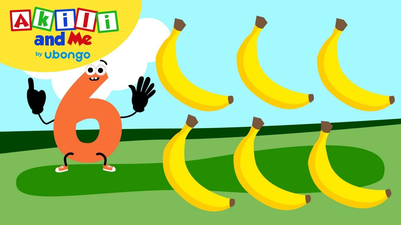 Count Fruits! | Numbers & Shapes with Akili and Me | Educational Cartoons for Preschoolers