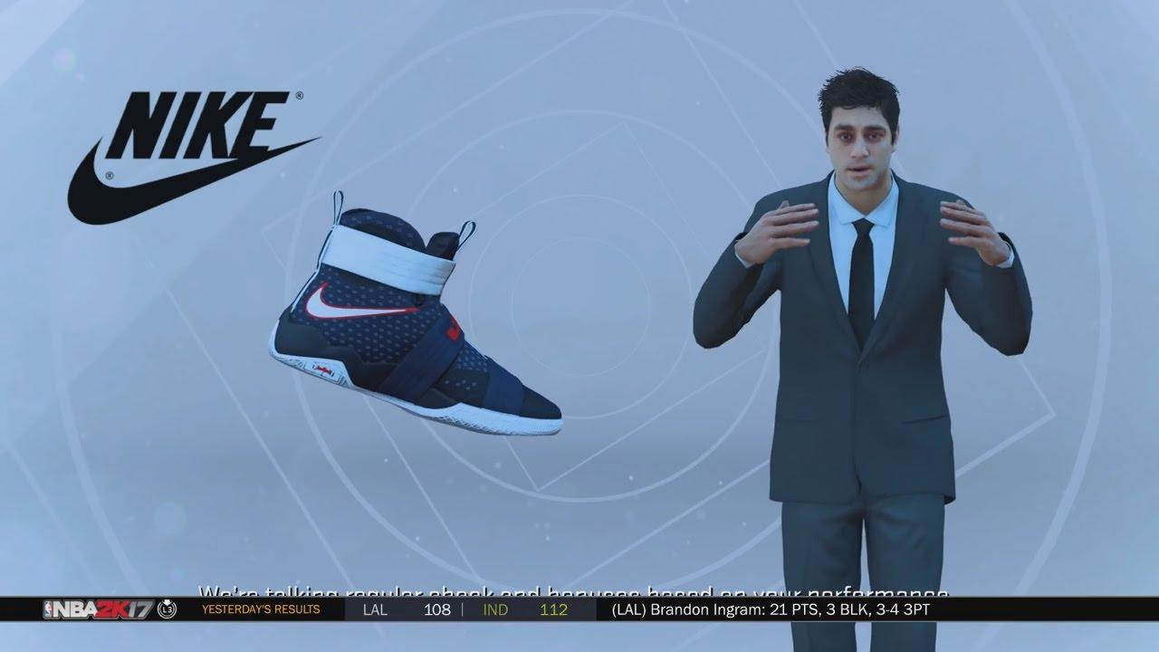 NBA 2k17 MyCAREER - Shoe Deal! Jordan,Nike, UA or Adidas? Ep. 8 - YouTube