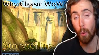 "Asmongold Reactions ""Why Classic WoW? Storytelling"" by Defcamp & Melderon TV"