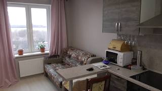Проект из квартиры в свой дом. Квартира - студия для сдачи. Обзор.