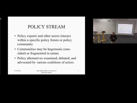 Using Policy Theoretical Frameworks for the Study of Public Administration